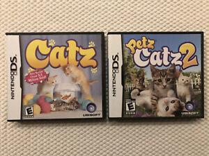 Catz-Petz-Catz-2-Nintendo-DS-Complete-w-Case-amp-Manual
