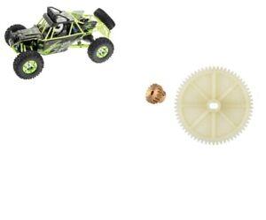 Ersatzteil-fuer-Dune-Buggy-Across-WL-Toys-12428-Hauptzahnrad-amp-Ritzel