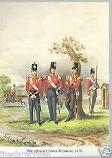 50th (Queen's Own) Regiment 1850 Unposted Postcard