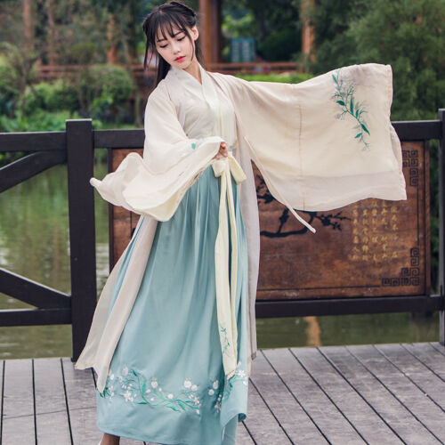 Classic delig Rokje 3 Vintage jasmodel Embroideried Hanfu Chinese qCW7t5F