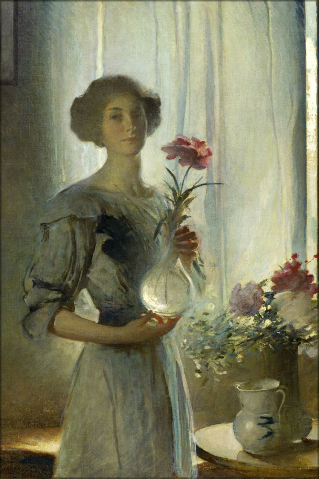 Plakat, Viele Größen; Juni von John Weiß Alexander 1911