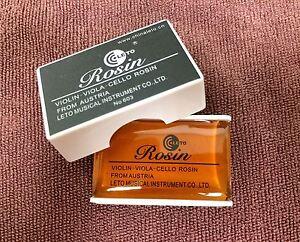 New High Quality Leto Rosin From Austria for Violin, Viola, Cello Erhu 603 Rosin