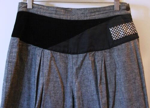 europea rari taglia 46 di grigio italiani neri Pantaloni taglia e TPqFZzWw5U
