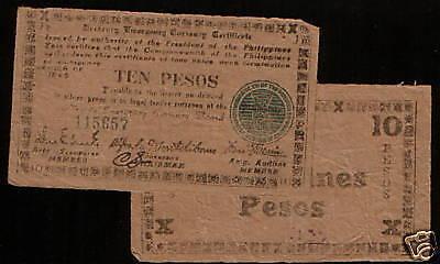 S683, 1945 10-PESO VF PHILIPPINES s 683