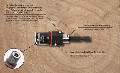 """Bithalter SDS Plus Schaft mit Ringmagnet 2kg Bit Magnethalter 1//4/"""""""