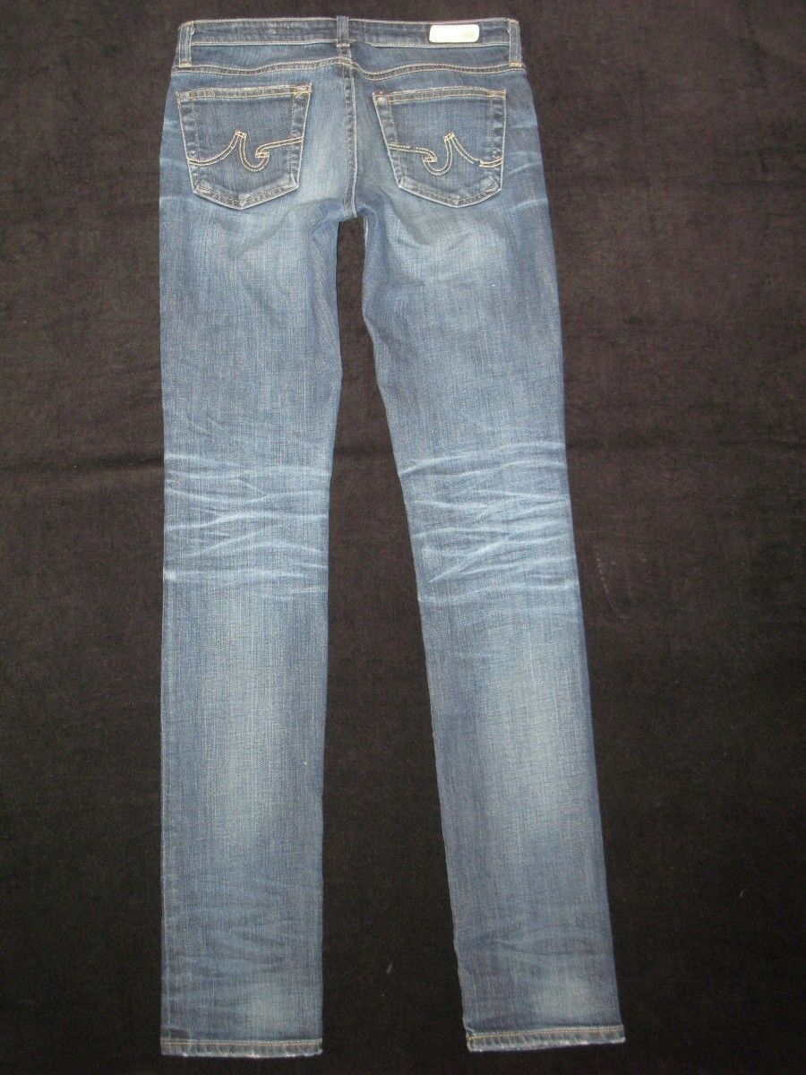 AG ADRIANO goldSCHMIED Jeans Premiere Skinny Sz 26 in 5 year AG'ed Wash
