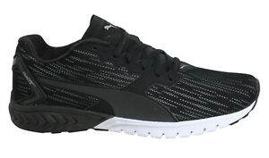 Details about Puma Ignite Dual Nightcat Black Running Mens Low Top Trainers 189354 01 B65D