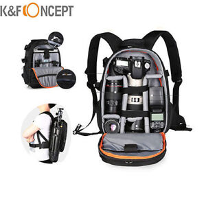 K-amp-F-Concept-Camera-Backpack-Bag-Waterproof-for-Canon-Nikon-DSLR-Free-Rain-Cover