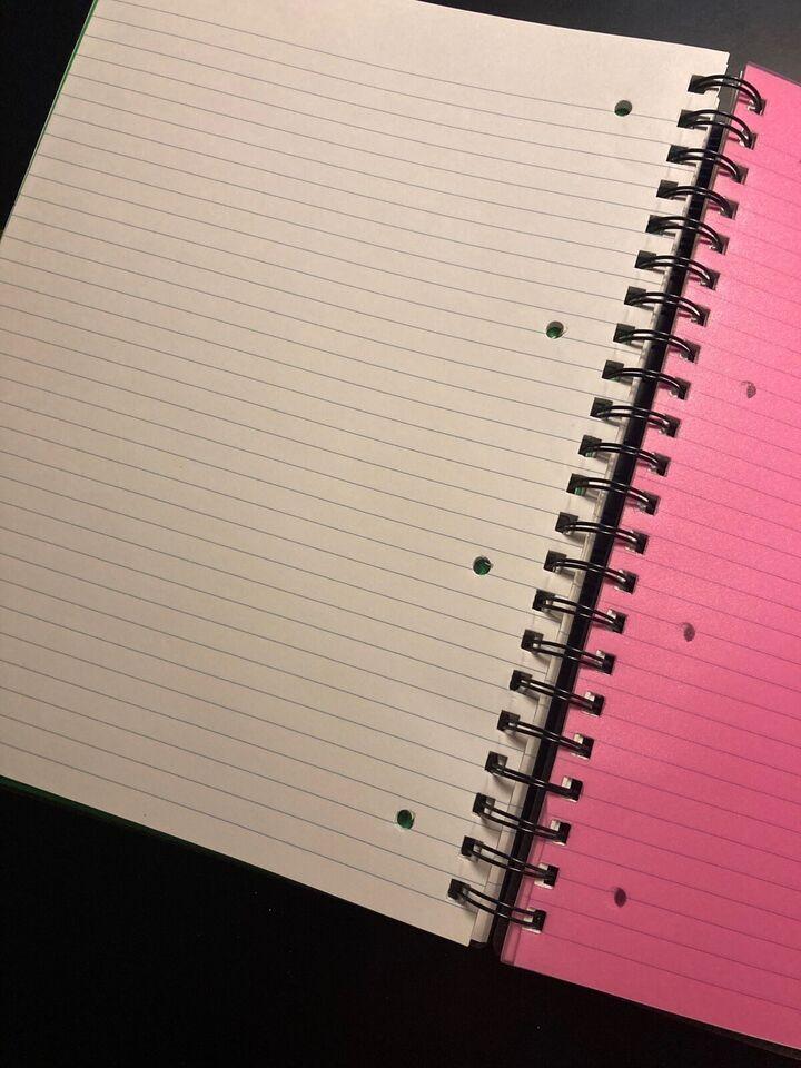 5 in 1 note book
