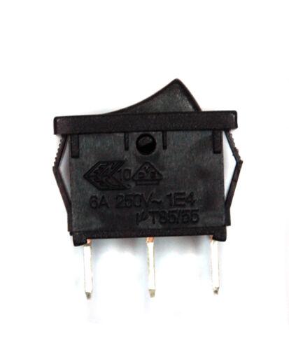 10pc Rocker Switch 3P SPDT On-On 10A125V 6A250 JS-606B-QB//B-2H no Lamp JEC