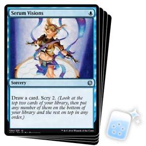 Serum Visions X4 Conspiracy Take The Crown Magic Mtg Mint Card Ebay