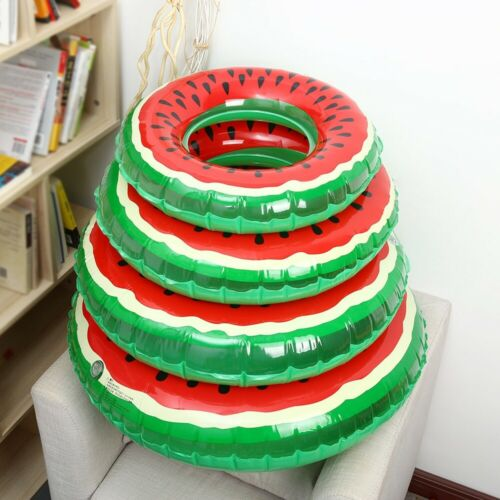 Teen Children Watermelon Inflatable Swimming Ring Pool Float: Baby Adult