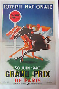 WW2-Repro-Poster-Guerre-1939-1945-Lottery-National-30-June-1940-Prix-Paris