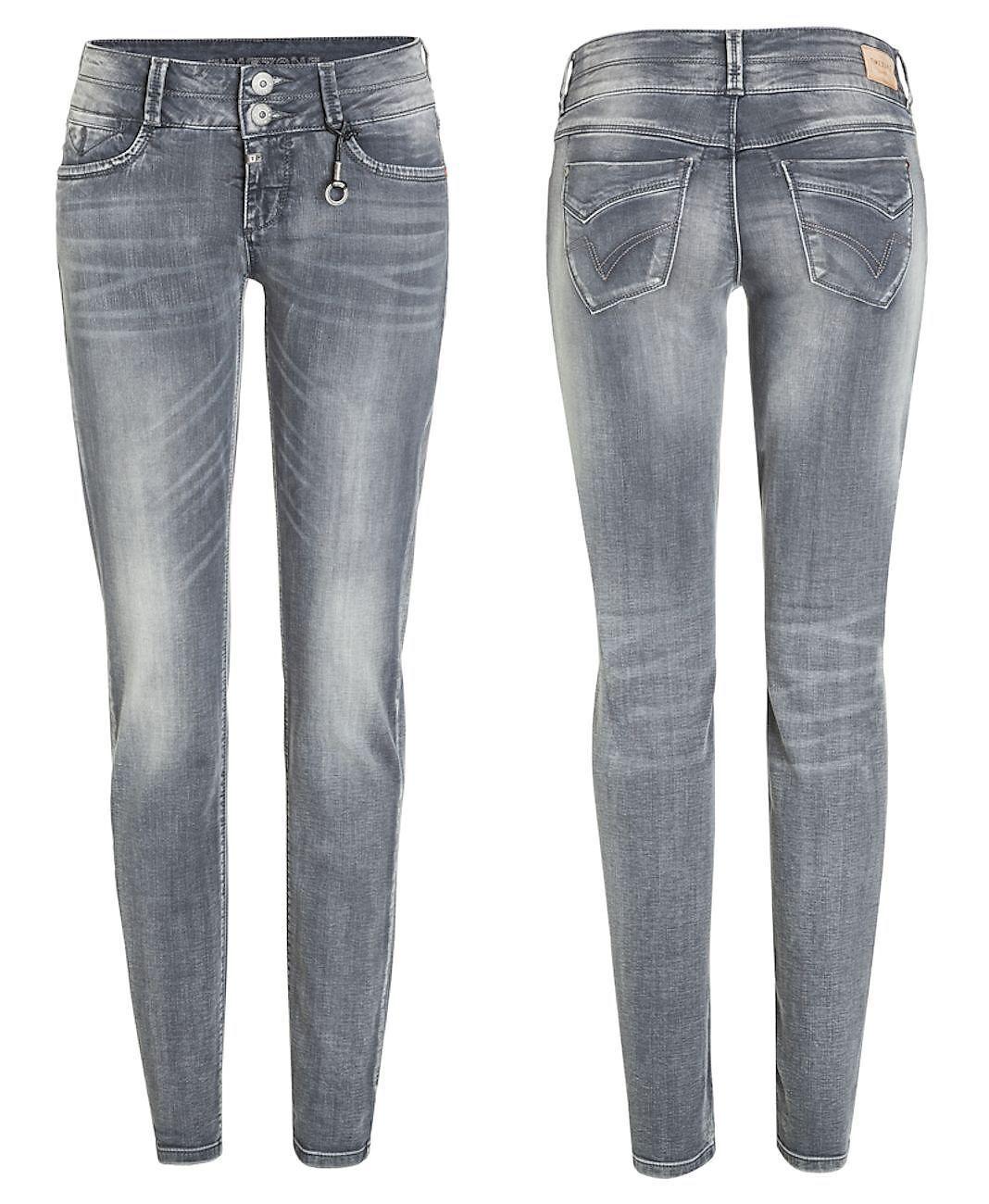 Timezone Damen Jeans Hose Stretch Slim Frauen Jeanshose Röhre Enya 17-10025
