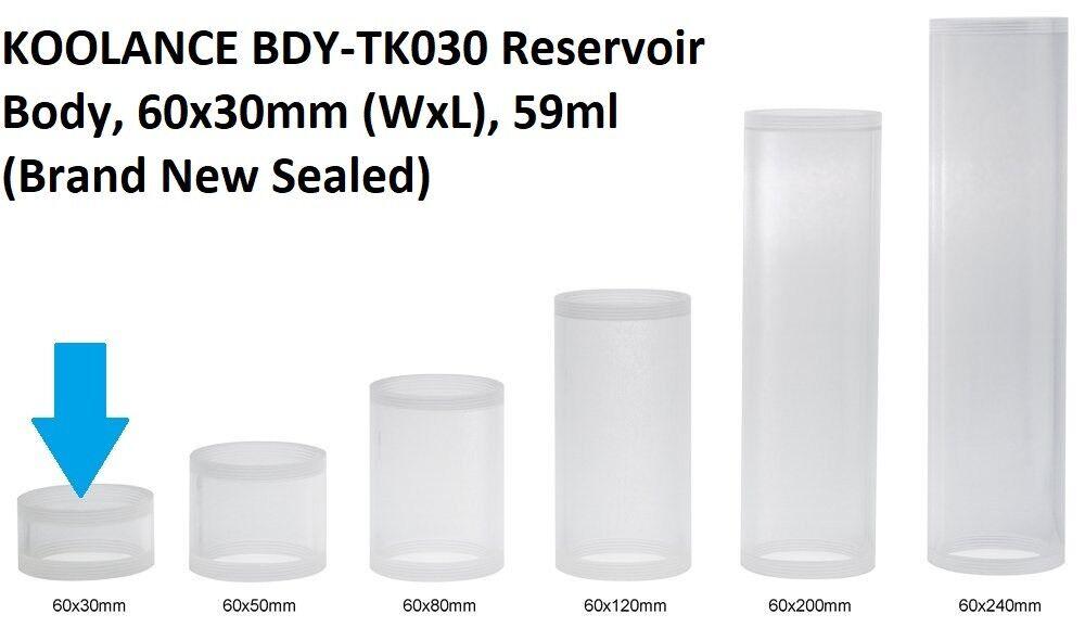 Koolance BDY-TK050 Reservoir Body 60x50mm WxL 98ml