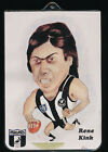 1979 Rene Kink VFL Footy Pin-on Collingwood Magpies r
