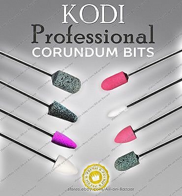 Kodi Electric Nail Drill  Corundum Bits Fresas Burs Pedicure