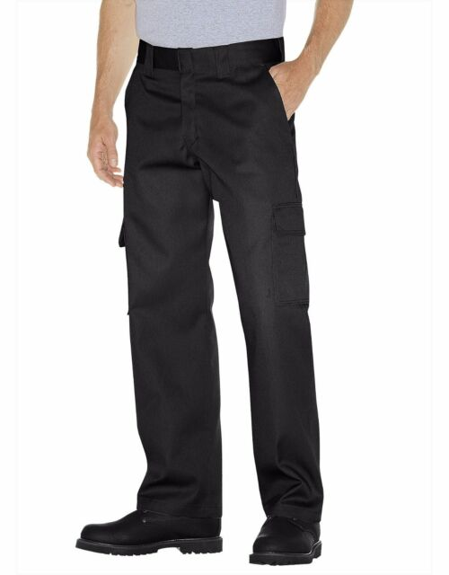 Dickies WP592 Men/'s Relaxed Fit Cargo Uniform Pants Straight Leg Workwear