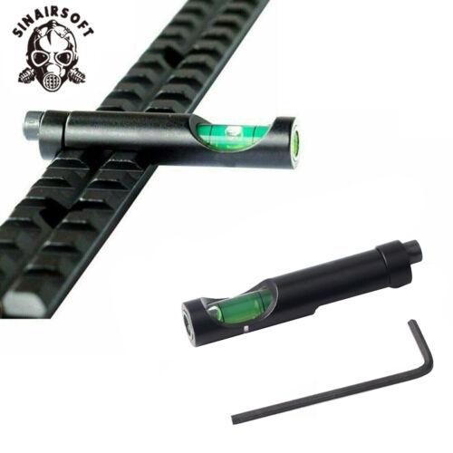 Spirit Bubble Level For 20mm Picatinny Weaver Rail Base Rifle Scope Mounts sight