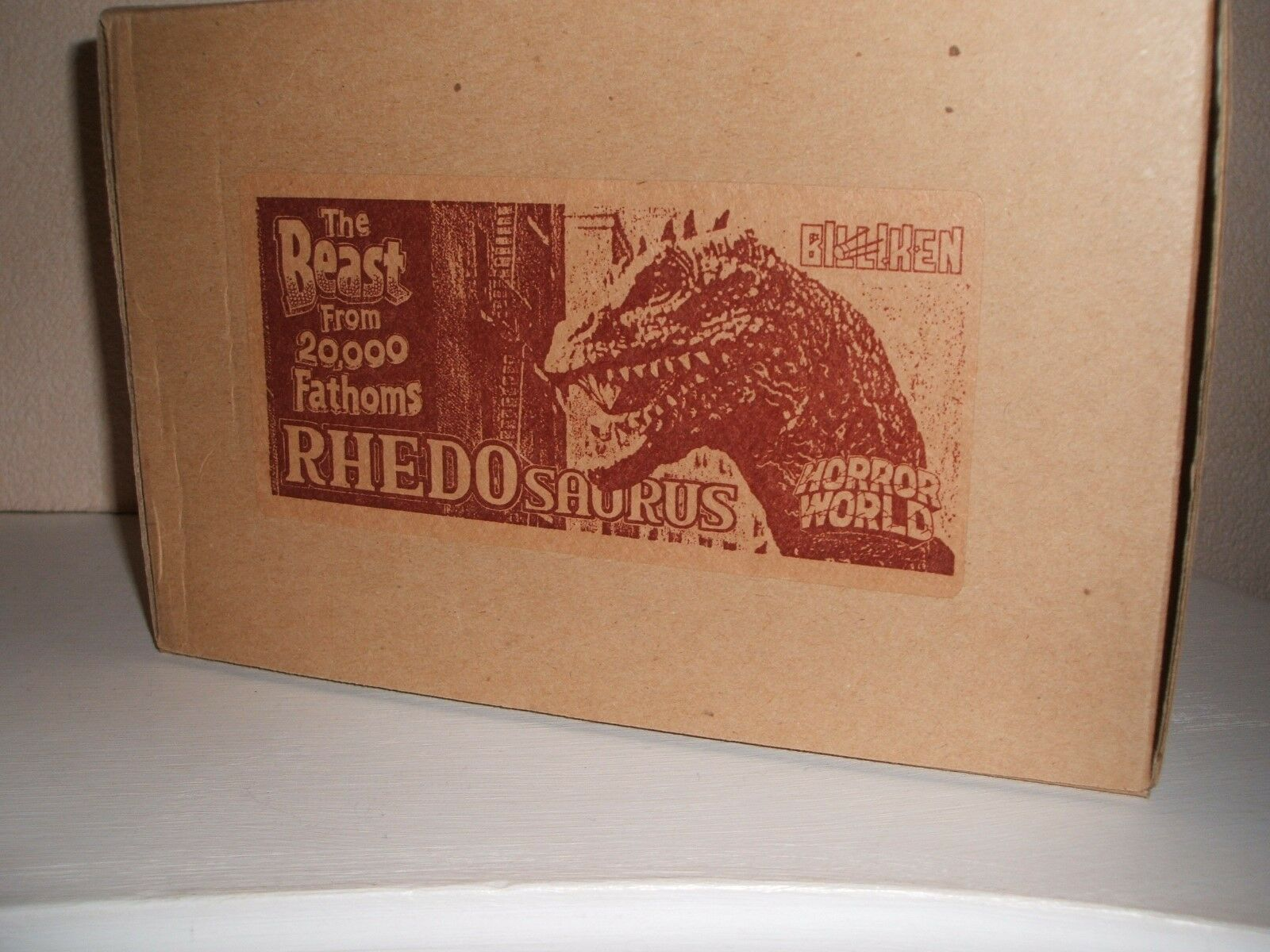 BILLIKEN RHEDOSAURUS ORIGINAL VINYL MODEL KIT  UNMADE HIGH GRADE BOX VERY RARE