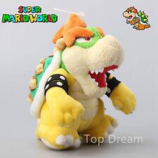 """New Super Mario Bros. Plush Bowser Koopa Soft Toy Stuffed Animal Teddy Doll 8"""""""