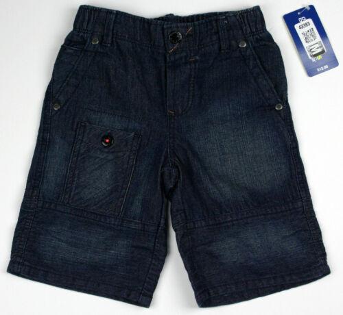 NEW Toddler Girls Blue Denim Shorts Long Beach OshKosh Jean NWT Kids Osh Kosh