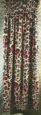 Jstfy 'ANIMAL' Print Strapless Maxi Sundress Strapless, Size Large L Pink Black