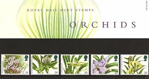 Orchids  GB Stamp Presentation Pack  236  issued 1993 - Warrington, United Kingdom - Orchids  GB Stamp Presentation Pack  236  issued 1993 - Warrington, United Kingdom
