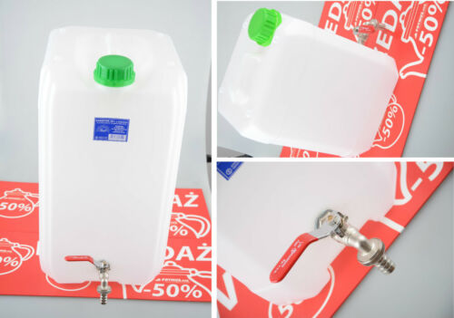 Bidons d'eau 10l bidon d'eau potable bidons avec robinet Camping 8 e livraison