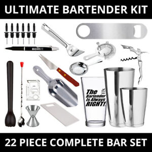 Ultimate-22-Piece-Complete-Bar-Kit-For-Professional-Bartenders-and-Home-Bar-Set