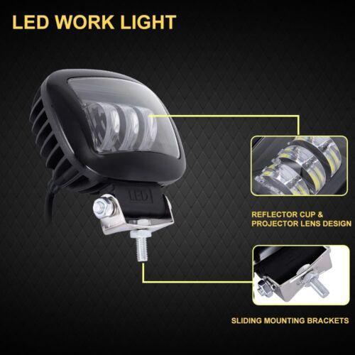 72W Spot Flood Combo Beam LED Offroad Work Light For boat Truck Driving Fog Lamp