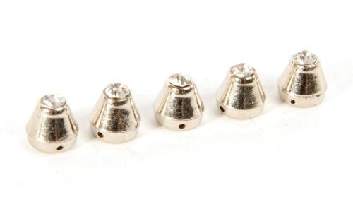 Acrylic Sew on Bucket Stud//Beads with Diamante Wedding Sewing Arts /& Crafts