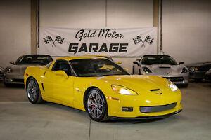 2007 Chevrolet Corvette Z06, Fully loaded, 23KMs, NAV, HUD, LS7, 505HP, 6-speed MANUAL