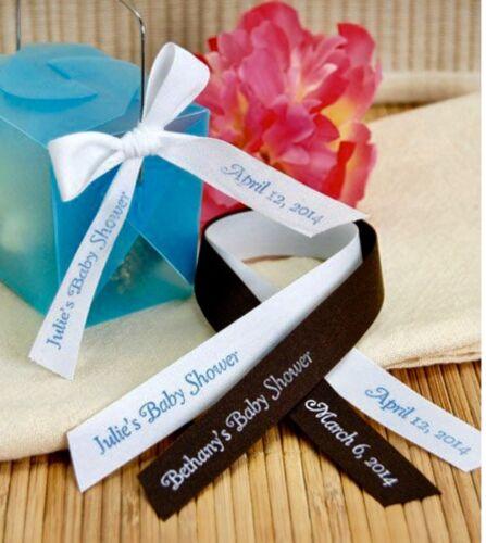 "150 Personalized Ribbon 1//4/"" 3//8/"" Christening Sweet 16 Quinceañera XV Recuerdos"