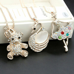 collier femme animaux
