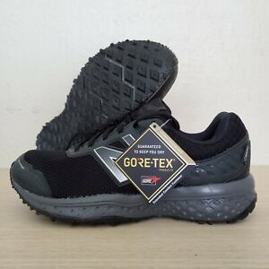 New-Balance-Black-Dark-Grey-Gore-Tex-Trail-Running-Shoes-Size-8-MT620GT