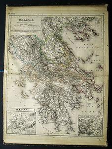 H-Kiepert-Atlas-Grecia-Graecia-Greece-Griechenland-1882