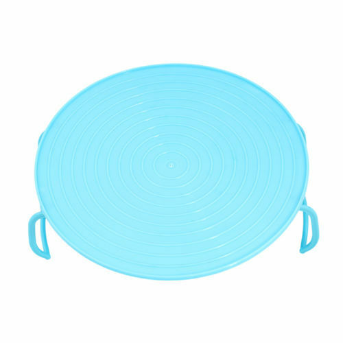 Microwave Plastic Food Dish Plate Stand Stacker Tray Heat er Cooking Supply ND