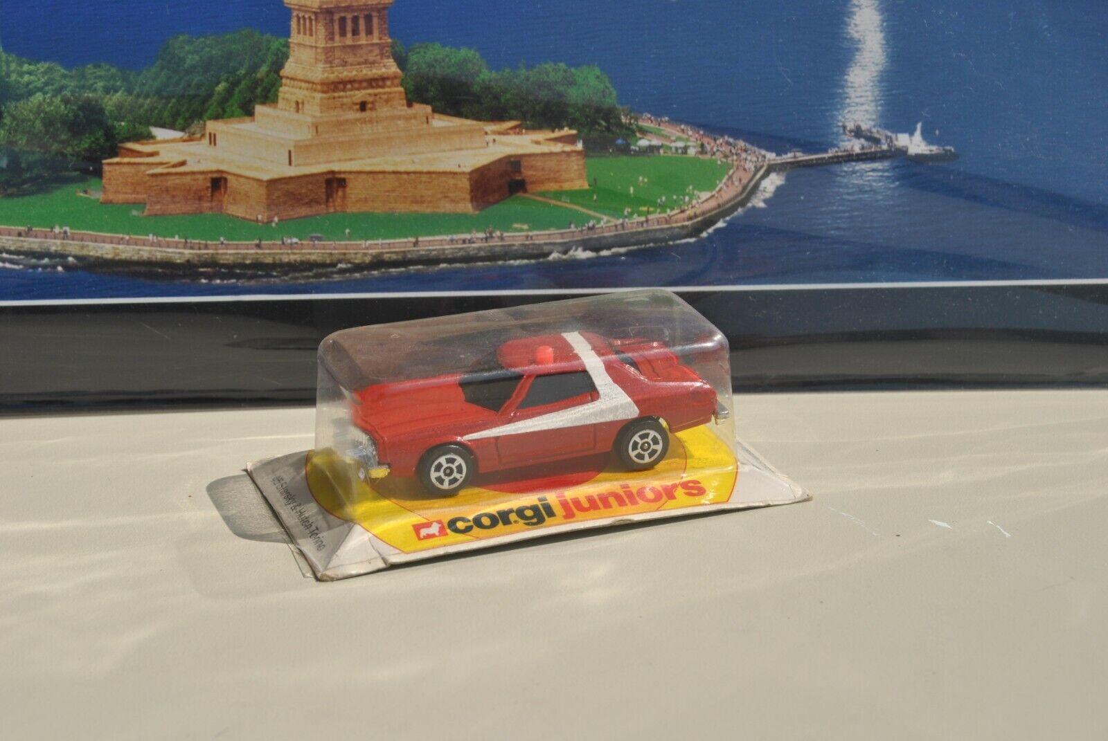 Vintage voiture corgi  juniors die-cast ford gran torino starsky hutch 1977 rare  direct usine