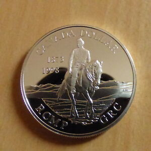 Canada-Dollar-1998-Mounted-Police-PROOF-silver-92-5-25-1-g-in-capsule