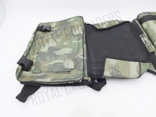 ROYAL ENFIELD HARLEY MILITARY GREEN SIDE BAG LUGGAGE WATER PROOF #RE63 CODE1653