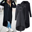 Plus-Size-Womens-Long-Hooded-Coat-Zipper-Hoodie-Jacket-Tops-Casual-Cardigan-8-22 thumbnail 1