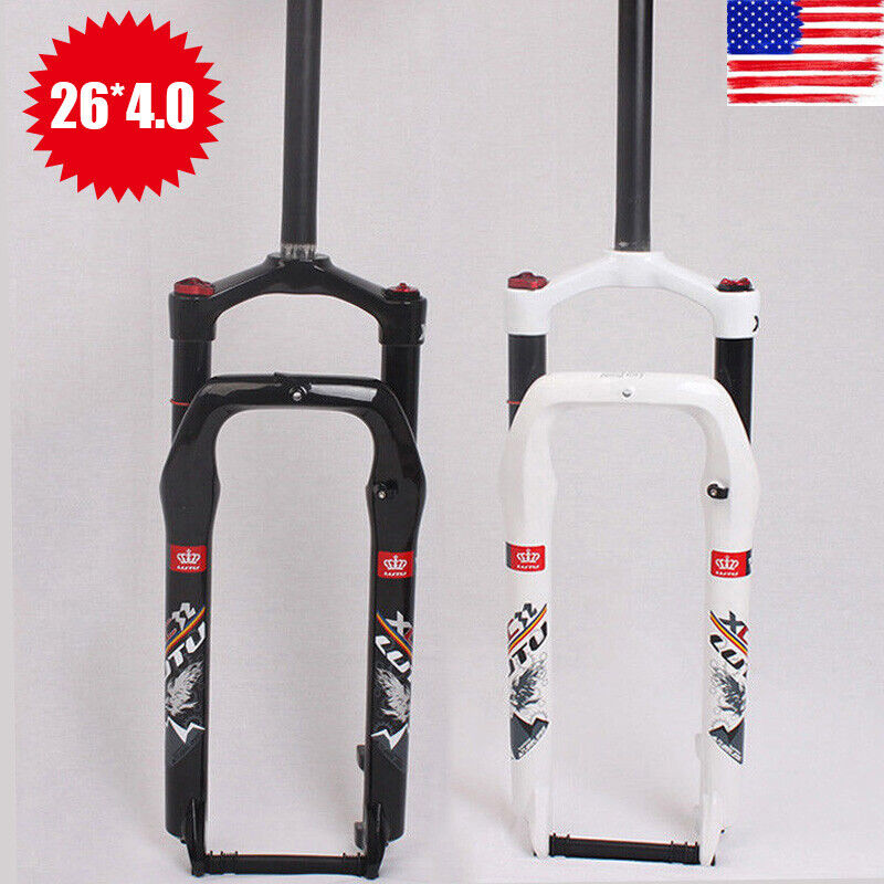 LUTU 264.0  Beach Snow Bike Air Forks 1-1 8  Fat Bicycle Suspension Fork 135mm