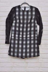 49a78ead6f Le Kilt for ASOS Long Sleeve Playsuit With Skirt Overlay size 6 UK ex ...