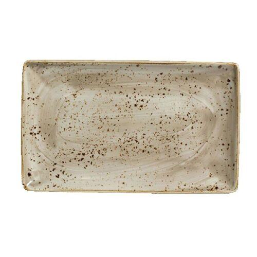Steelite Platte Rechteckig 27 x 16,8 cm Craft Porcini