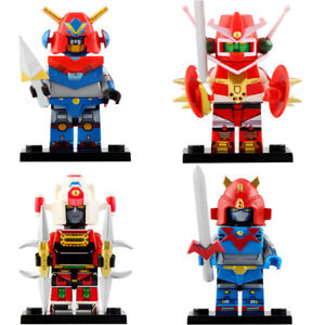The Voltes V Team Brand New Lego Moc Minifigure Robot Collection