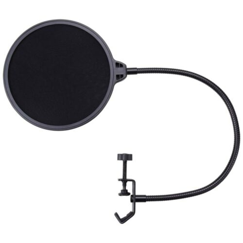 Double Layer Microphone Pop Filter Studio Home Recording Wind Screen Mask Shield