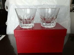 Baccarat-Limited-Edition-Crystal-Tumblers-Etna-2011-Japan-Glassware-Rare-cup