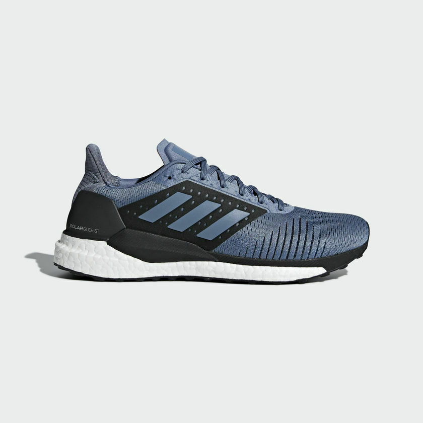 [Adidas] CM8048 Solar Glide ST Men Women Running shoes Sneakers bluee