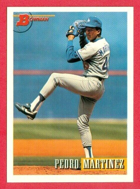 1993 Bowman Bb Pedro Martinez Rookierc Card 154 Los Angeles Dodgershofer